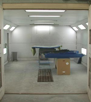 Body Shop Paint Booth